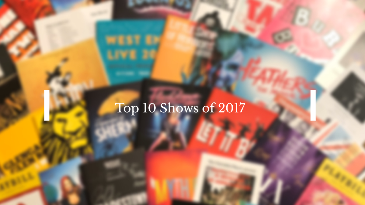 Top 10 Shows of2017