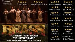Brass, The Union Theatre, London (October - November 2018)